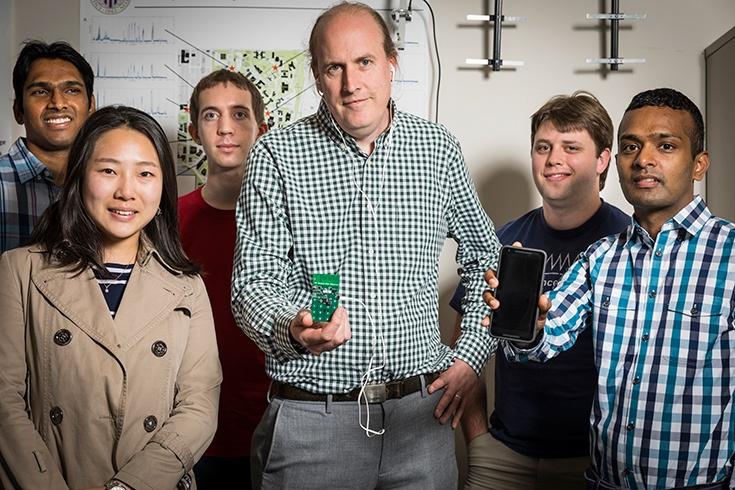 В Вашингтонском университете создан сотовый телефон, не нуждающийся в подзарядке от сети
