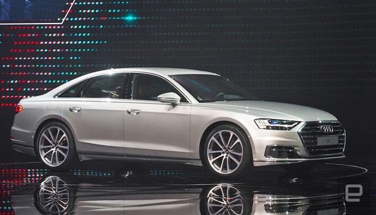 Компания Audi представила автомобиль A8 образца 2019 года