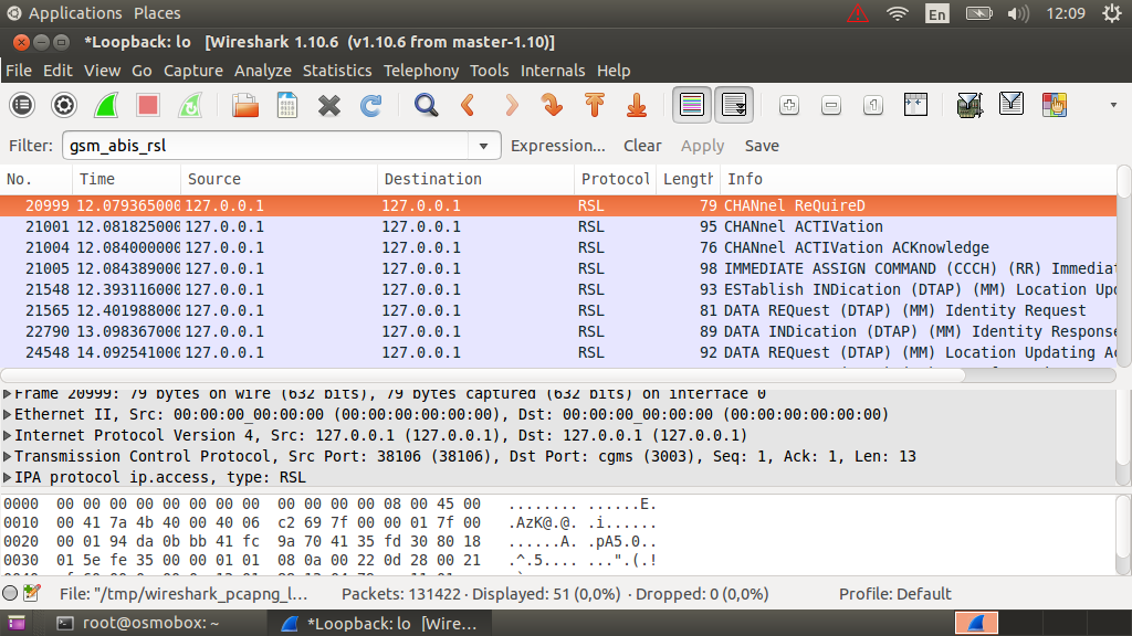 Анализ трафика GSM сетей в Wireshark - 11