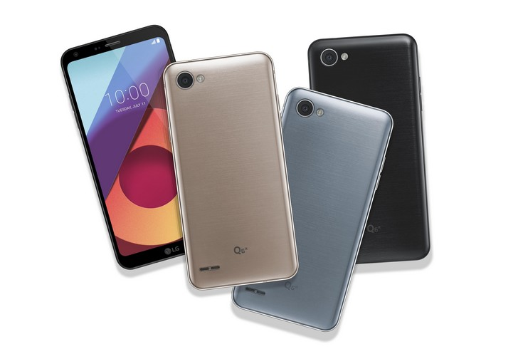 Представлена линейка смартфонов LG Q6