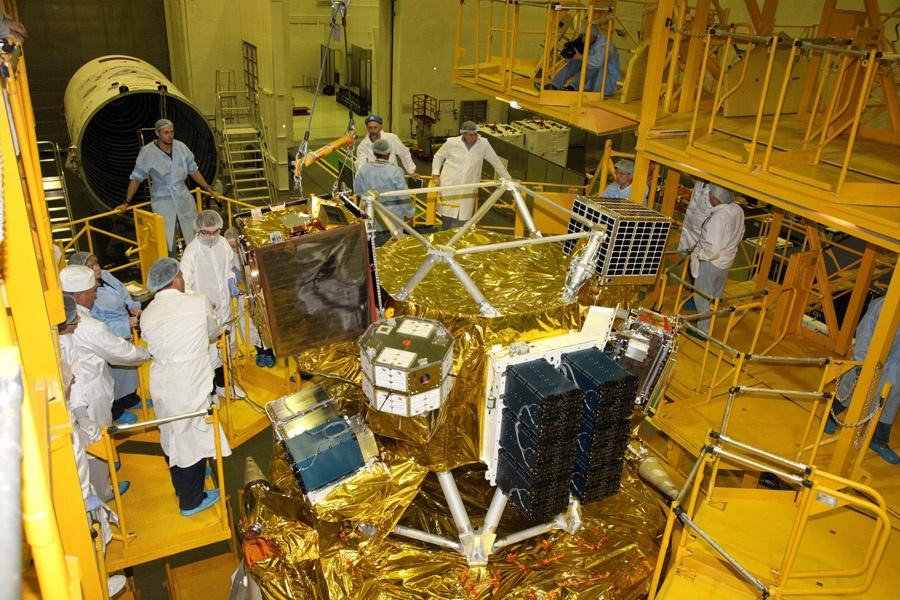 Большой полет маленьких спутников - 4