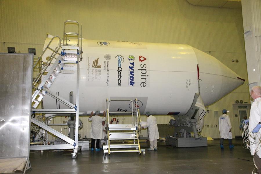 Большой полет маленьких спутников - 5