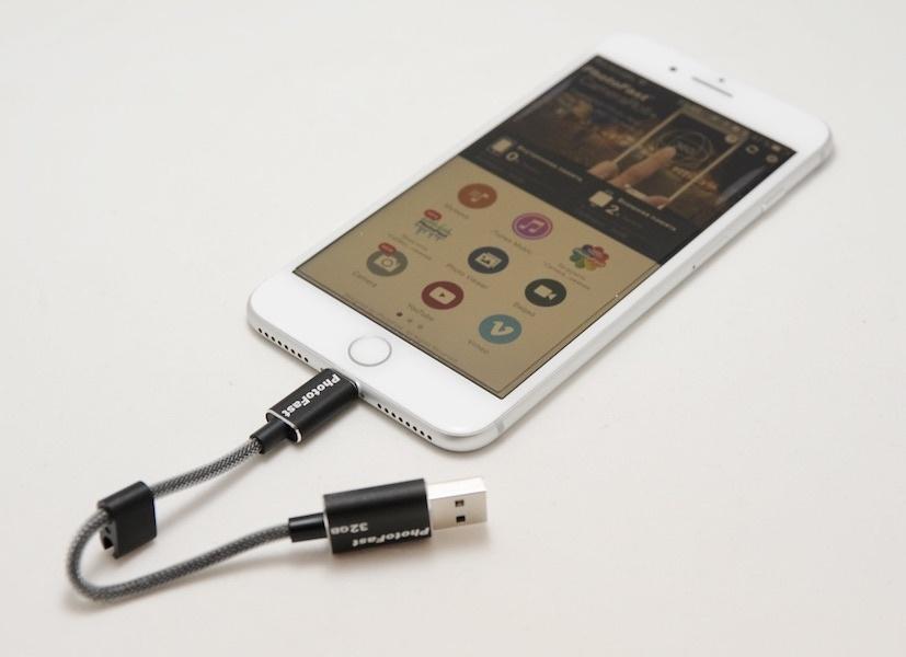 Флешка, кабель и кардридер: сравниваем три внешних накопителя для iPhone и iPad - 6
