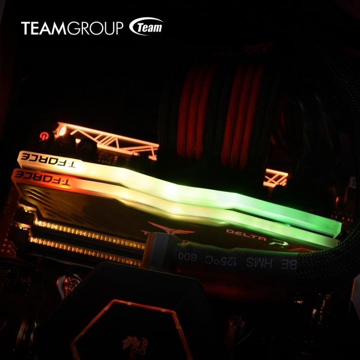 Модули Team Group T-Force Delta RGB привлекают не столько частотой работы, сколько возможностями освещения