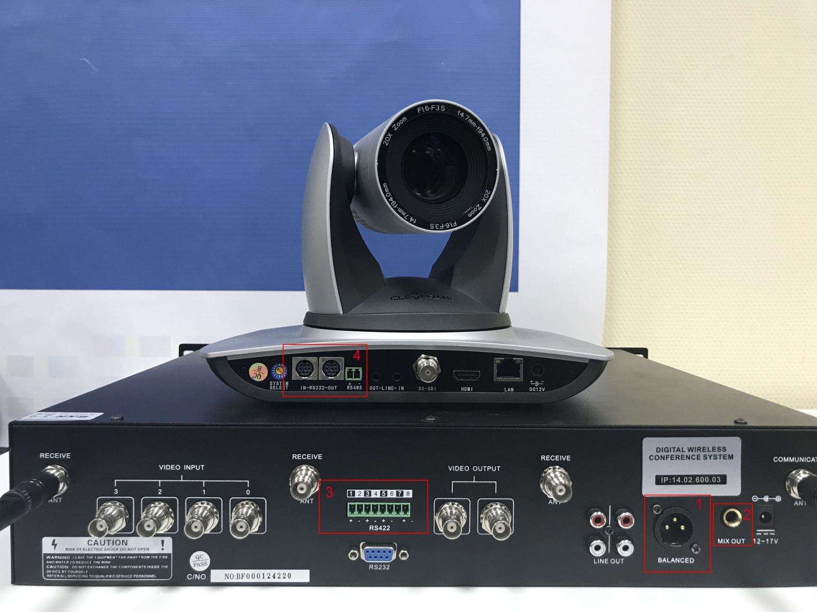 Пошаговое руководство настройки наведения камеры ВКС - 5