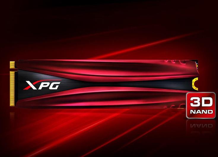 Твердотельные накопители Adata XPG Gammix S10 с интерфейсом PCIe 3.0 x4 поддерживают протокол NVMe 1.2