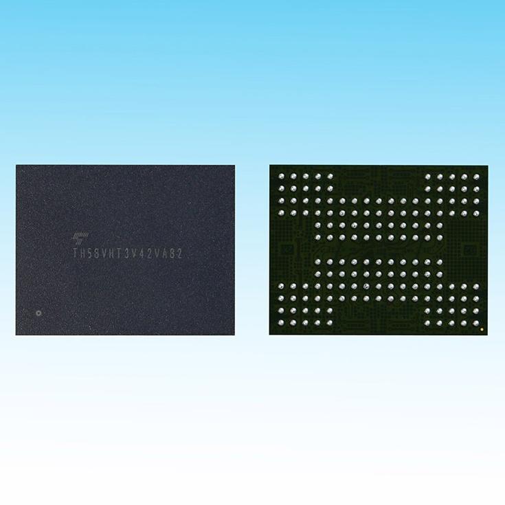У Toshiba готова флэш-память 3D TLC NAND с объемной компоновкой кристаллов с использованием технологии TSV