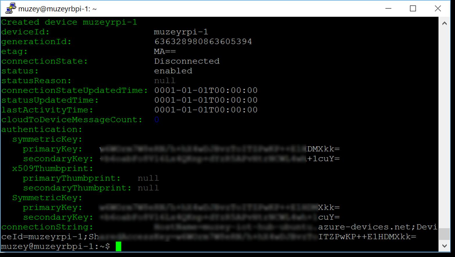 Заметки маркетолога: Как поставить Ubuntu на RPI и подключить к Azure IoT Hub - 29