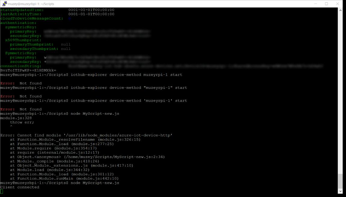 Заметки маркетолога: Как поставить Ubuntu на RPI и подключить к Azure IoT Hub - 32