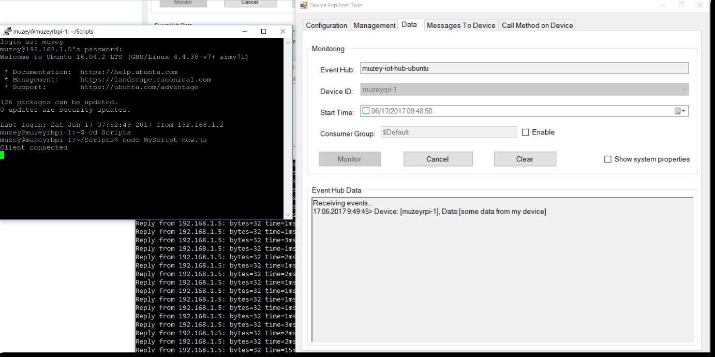 Заметки маркетолога: Как поставить Ubuntu на RPI и подключить к Azure IoT Hub - 34