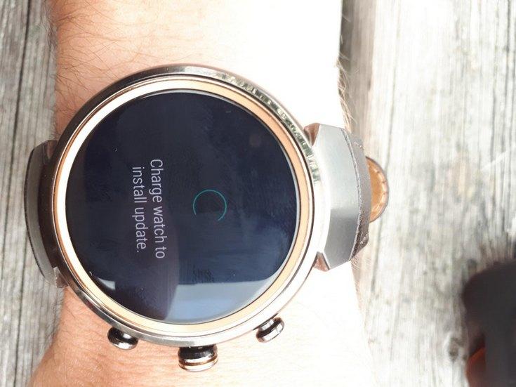Часы ZenWatch 3 получили долгожданное обновление