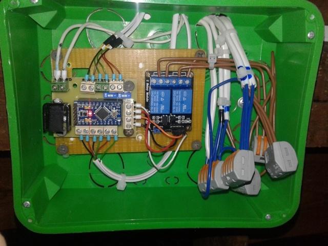 Автоматическое освещение комнаты на базе контроллера Аrduino - 11
