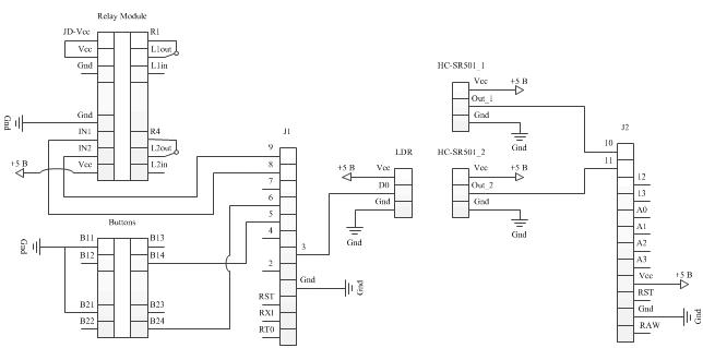 Автоматическое освещение комнаты на базе контроллера Аrduino - 2