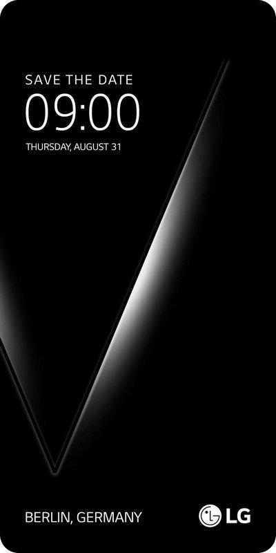 Смартфон LG V30 представят 31 августа