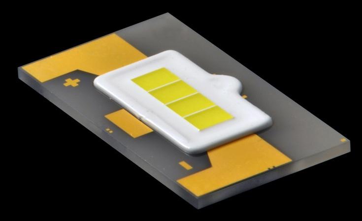 Светодиодная лампа, разработанная специалистами Toyoda Gosei, создает световой поток 2300 лм