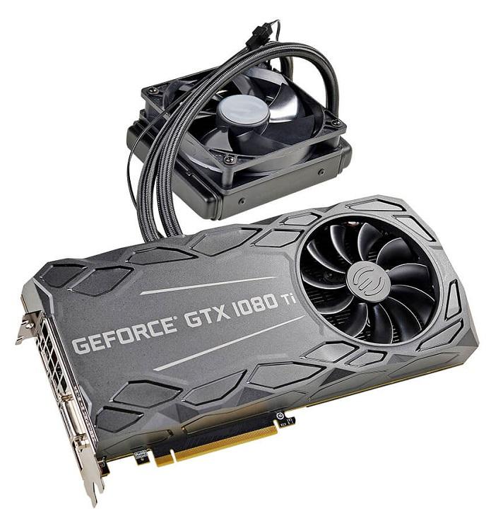 Карта EVGA GeForce GTX 1080 Ti FTW3 Hybrid получила целый массив термодатчиков