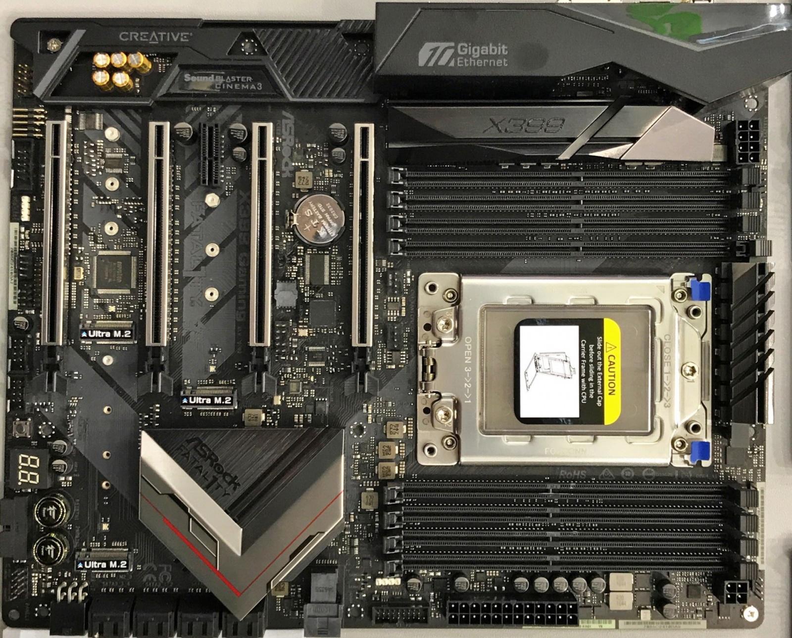 AMD объявила спецификации и стоимость процессоров Ryzen Threadripper 1920X и 1950X - 2