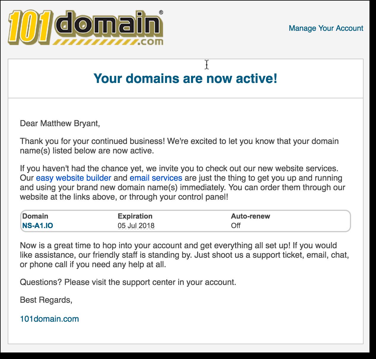 Захват всех доменов .io с помощью таргетированной регистрации - 4