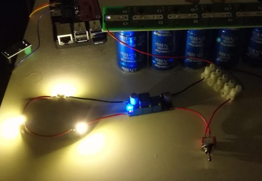 Free energy или как сделать ночник на ионисторах и солнечной батарее - 6