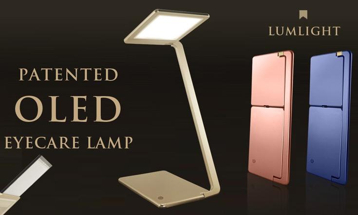 Чтобы организовать выпуск настольных светильников OLED EyeCare Lamp, достаточно $15 000