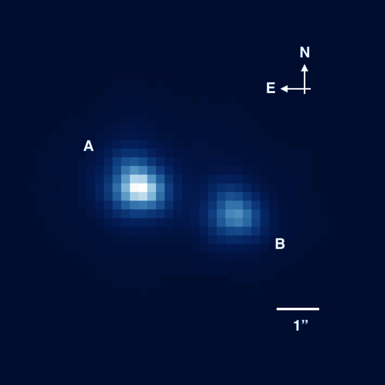 Астрономы открыли самую маленькую звезду за все время наблюдений - 2