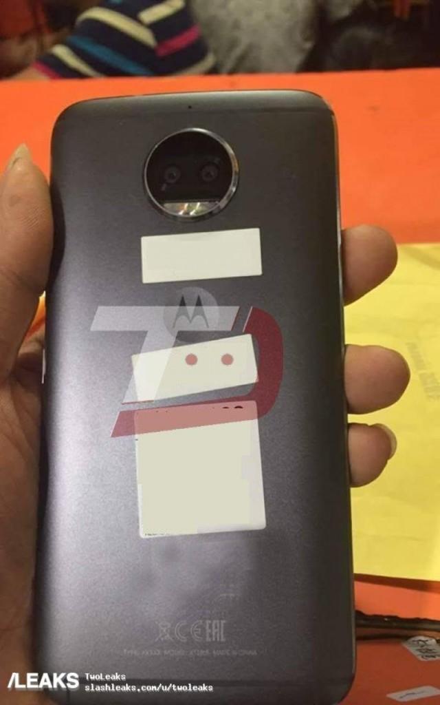 Опубликованы фотографии смартфона Moto G5S Plus, который представят 25 июля