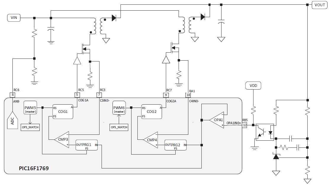50 оттенков ПНЯ*. Микроконтроллеры в импульсных источниках питания. Часть 2 - 16