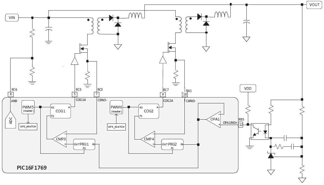 50 оттенков ПНЯ*. Микроконтроллеры в импульсных источниках питания. Часть 2 - 17