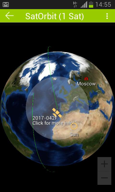 Мы нашли спутник МАЯК на орбите - 4