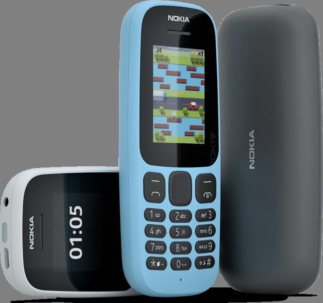 Представлены мобильные телефоны Nokia 105 и Nokia 130