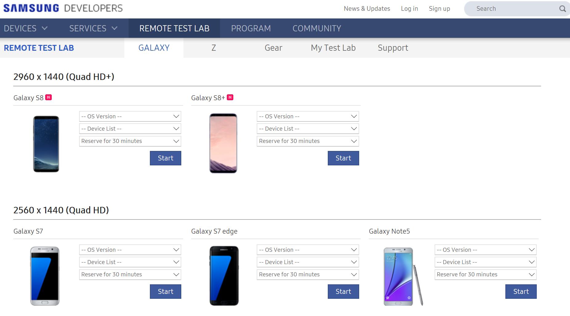 7 лучших ферм устройств для тестирования мобильных приложений - 3