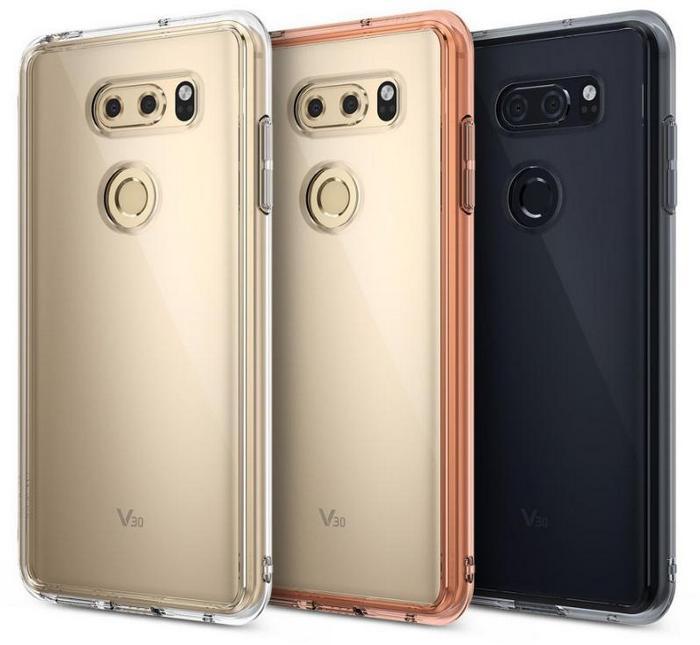 Производитель чехлов Ringke продемонстрировал заднюю панель смартфона LG V30