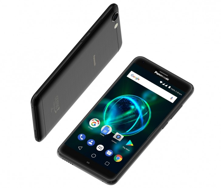 Смартфон Panasonic P55 Max оснащен аккумулятором емкостью 5000 мА•ч