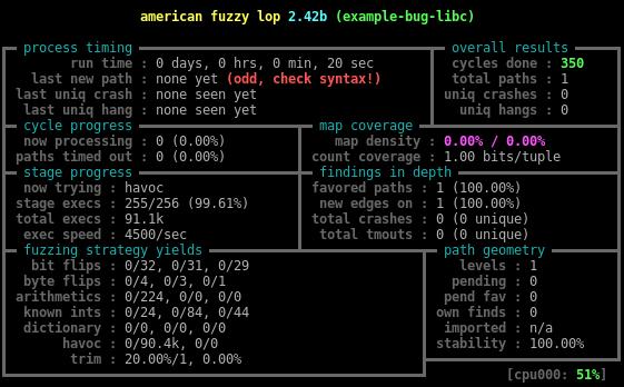 Динамическая инструментация — не просто, а тривиально*: пишем yet another инструментацию для American Fuzzy Lop - 2