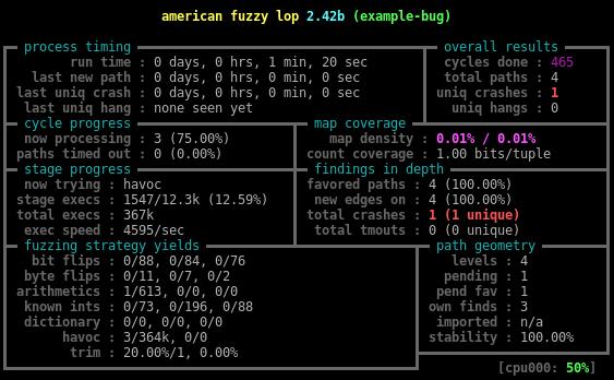 Динамическая инструментация — не просто, а тривиально*: пишем yet another инструментацию для American Fuzzy Lop - 3