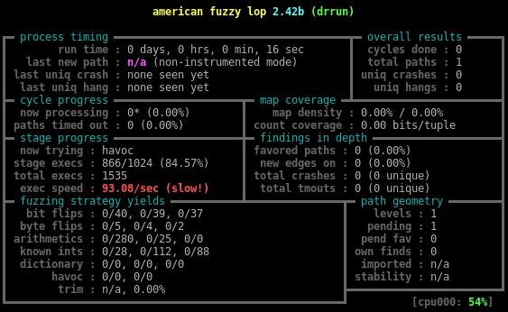 Динамическая инструментация — не просто, а тривиально*: пишем yet another инструментацию для American Fuzzy Lop - 4