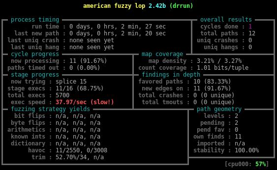 Динамическая инструментация — не просто, а тривиально*: пишем yet another инструментацию для American Fuzzy Lop - 5