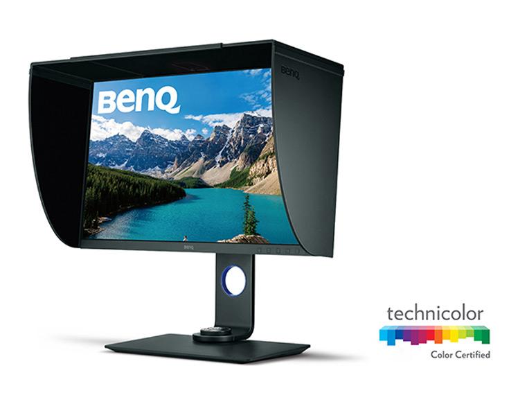 Монитор BenQ SW271 поддерживает аппаратную калибровку цветопередачи
