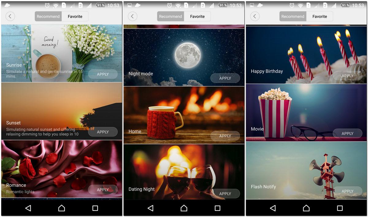 Умные светодиодные лампы Xiaomi Yeelight - 7