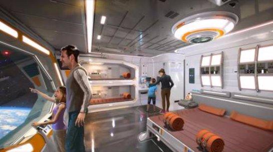 Disney создаст отель в духе «Звёздных войн»
