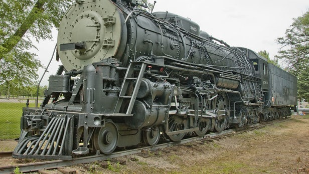Незабытые технологии: паровозы - 10