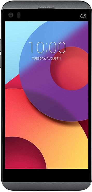 LG Q8 отличается от LG V20 экраном