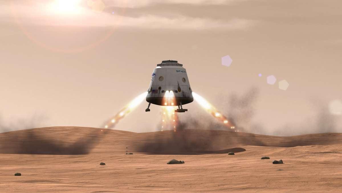 «Реактивной посадки» на Dragon не будет - 1