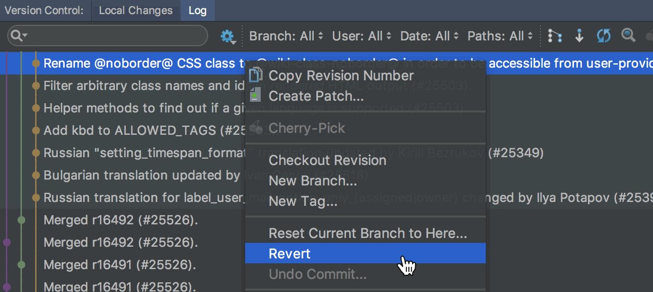 RubyMine 2017.2: Docker Compose, автокоррекции RuboCop в редакторе, улучшенный VCS - 6