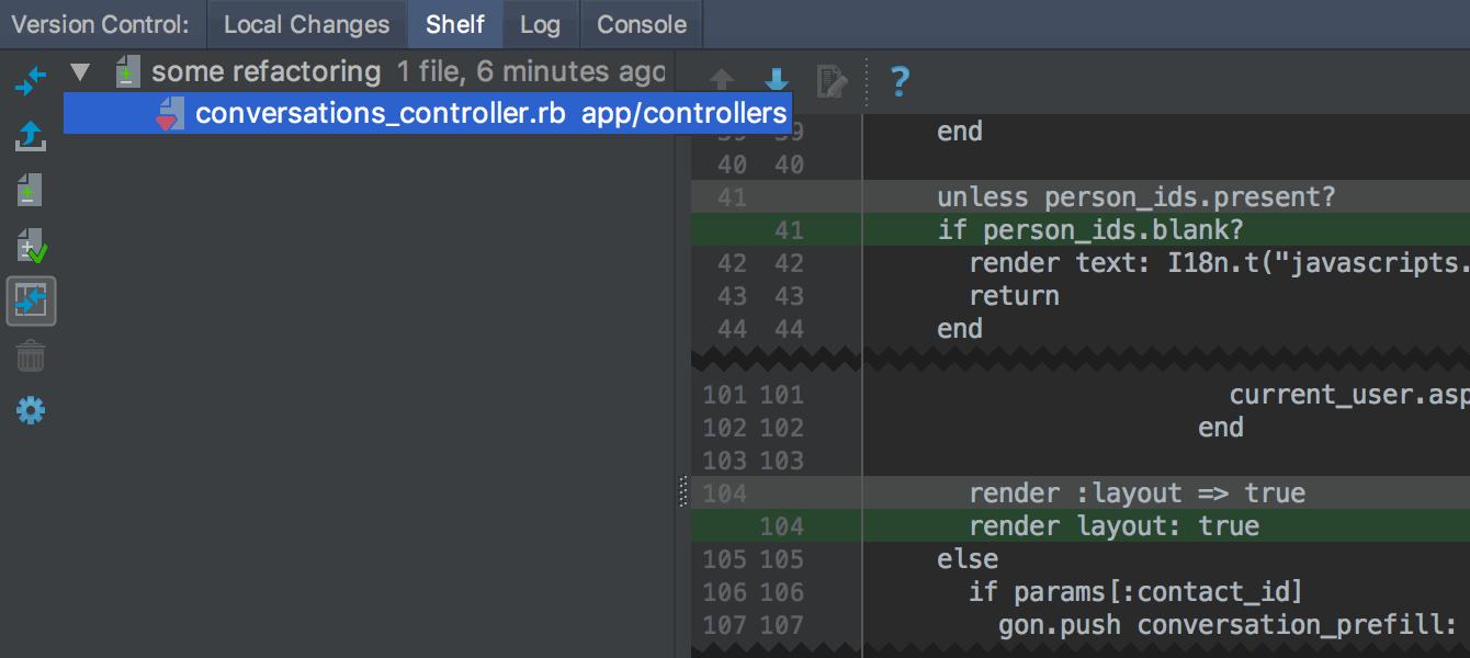 RubyMine 2017.2: Docker Compose, автокоррекции RuboCop в редакторе, улучшенный VCS - 9