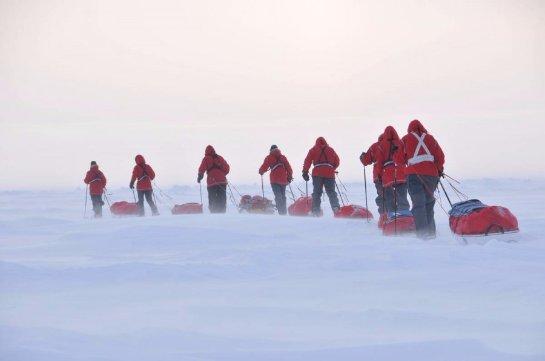 Китай отправил восьмую экспедицию в Арктику