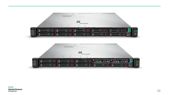 Компания HPE начала продажи новых серверов HPE ProLiant Gen10 - 12