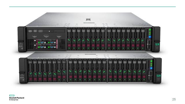 Компания HPE начала продажи новых серверов HPE ProLiant Gen10 - 15