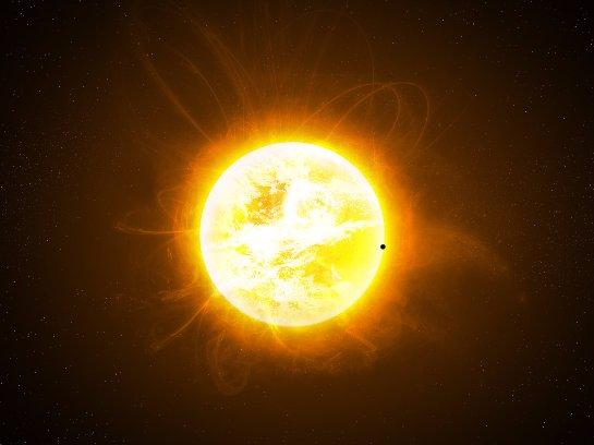 Солнце хотят использовать как посредника при общении с инопланетянами