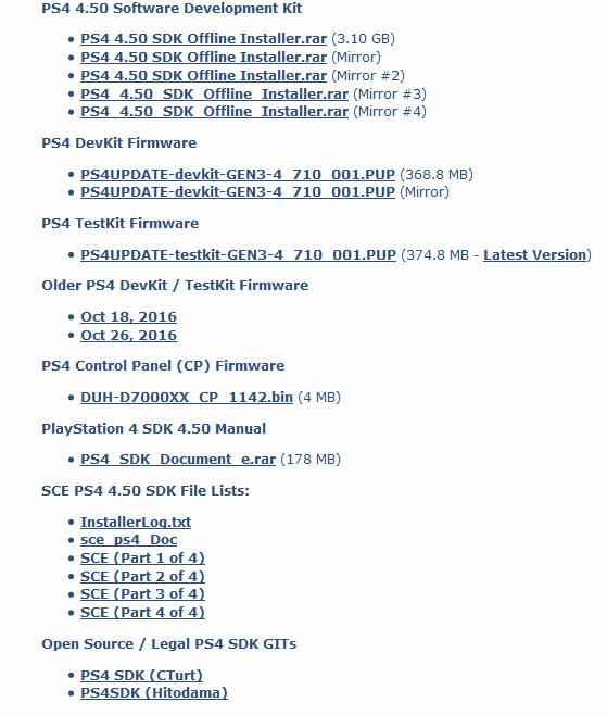 Sony пытается удалить из сети любые упоминания об утекшем официальном SDK для PlayStation 4 - 2